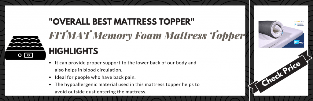Best Mattress Toppers in India
